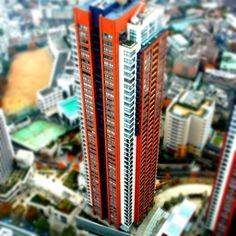 #Tokyo tilt-shift used with a large format camera!
