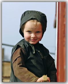 Amish Child ~ Sarah's Country Kitchen ~