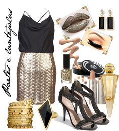 """""""Paetês e lantejoulas..."""" by pslaudiceiabas ❤ liked on Polyvore"""