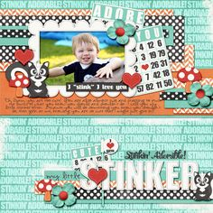 My Little Stinker - Scrapbook.com