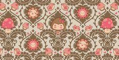 Victorian kawaii pattern by maiiko