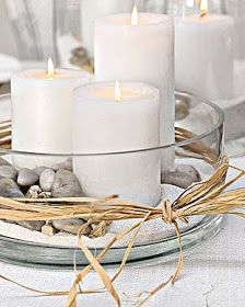 modern glass candle holder More
