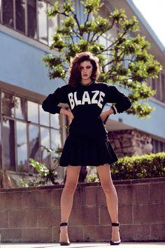 Phoebe Tonkin by Zanita Morgan in Phoebe Takes LA for Fashion Gone Rogue
