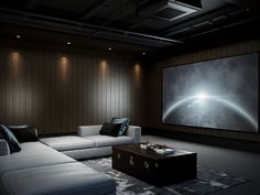 From rustic leather to modern fabrics, discover the top 70 best home theater seating ideas. Explore movie room furniture layouts and designs. Home Theatre, Home Theater Room Design, Best Home Theater, Home Theater Rooms, Home Theater Seating, Theater Seats, Movie Theater, Cinema Room Small, Home Cinema Room