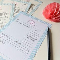Leuke vragen kaartjes als bruiloft gastenboek! Super origineel en persoonlijk (printable)