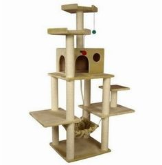 Cat Tree Ideas #catcondo - Understanding your cat better at - Catsincare.com!