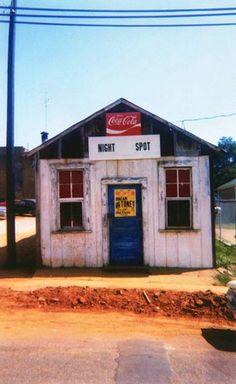 Night Spot, Marion, Alabama 1972 -William Christenberry