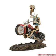 Dept 56 Halloween Harley Davidson HEADLESS HARLEY RIDER #4044887 NRFB Ghost Club