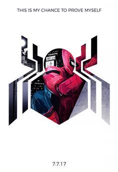 Spider-Man: Homecoming minimalist poster