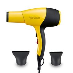 Buy Deinppa Ionic Hair Dryer AC Professional Salon Blow Dryer Low Noise Fast Dry with Ceramic+Tourmaline Technology With GFCI Hair Frizz, Dry Hair, Ionic Hair Dryer, Hair Tools, Salons, Ceramics, Amazon Deals, Technology, Styling Tools
