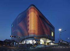 AECCafe.com - ArchShowcase - Ben van Berkel / UNStudio's Galleria Centercity in Cheonan, South Korea