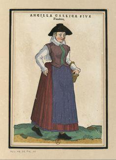 Ensemble_de_gravures_de_costumes_des_Pays-Bas_du_XVIe_siècle.f07.jpg (2640×3624)  Ancilla Gallica SIVE Flandrica