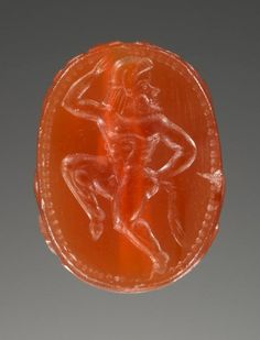Scarab, Etruscan, about 500 B.C., Carnelian