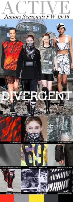 TREND COUNCIL F/W 2015- JUNIORS- DIVERGENT