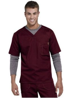 Greys Anatomy mens v-neck scrub top. - Scrubs and Beyond #scrubs #uniforms #nurse #men
