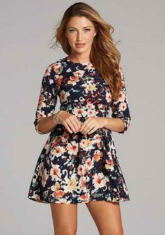 Fit n flare summer dresses clearance
