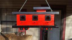 Designed for House Wrens, Caboose Birdhouse