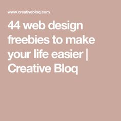 44 web design freebies to make your life easier - -