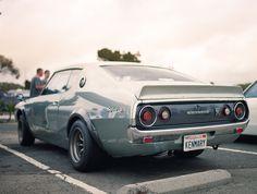 Nissan/Datsun Spin on a Muscle Car 1973 Skyline