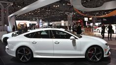 Making its world debut at the New York Auto Show, and commanding a $40,250 premium over the base RS7, is Audi's new 2015 RS7 Dynamic Edition that arrives with an MSRP of $146,045 (including destination and delivery). The range-topping hatchback is designed to showcase Audi's exclusive program, which allows customers to choose choose from the automaker's long list of options and then take the customization one step further with bespoke paintwork, upholstery, bodywork and wheels.