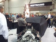 A demonstration begins at the 2012 PRI.