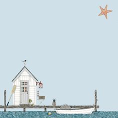 Sally Swannel - Fishing Hut