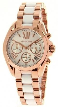 4873b52cd2d Michael Kors Everest Chronograph Ladies Watch MK5870. Rose gold-tone  stainless steel case.Rose gold-tone stainless steel bracelet with
