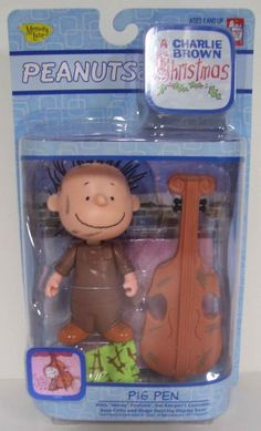 Peanuts A Charlie Brown Christmas Pig Pen with Cello Action Figure Peanuts http://www.amazon.com/dp/B001GMZXKS/ref=cm_sw_r_pi_dp_MXtRvb1JMSTH2