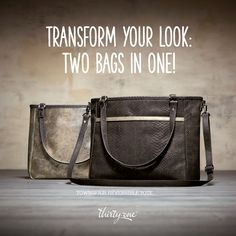 A reversible bag from day to evening! 3 bags 6 colors.  Fall / Winter 2015.  Thirty One Gifts!  Join my FB. group,a place for my Customers and new future Customers!  NO 31 Consultants please! Thanks https://www.facebook.com/groups/221123648035423/