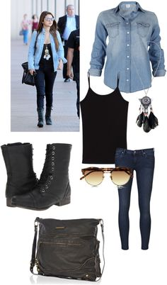 """Selena style"" by faye-98 on Polyvore"
