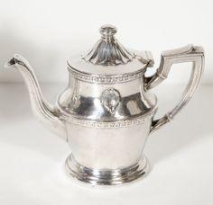 Original Biltmore Hotel Silver- Plate Tea Pot and Creamer