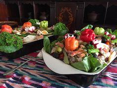 Fiambre, plato tradicional del Día de los Muertos, el Día de Gracias guatemalteco