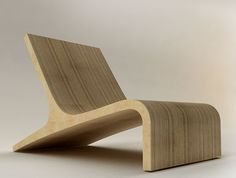 Stylish Wooden Chair Design by Velichko Velikov