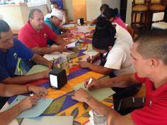 """Productividad Laboral """"SIGPROL"""" en el taller Maratón de Mejoras. Excelente equipo de colaboradores. Felicidades Alcatraces Marina vamos avanzando muy bien"""