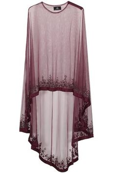 Wine floral beads embroidered cape available only at Pernia's Pop Up Shop. Abaya Fashion, Muslim Fashion, Modest Fashion, Indian Fashion, Fashion Dresses, Abaya Style, Hijab Style, Pakistani Dresses, Indian Dresses