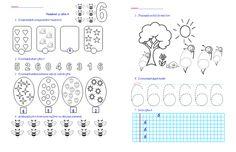 Materiale didactice de 10(zece): Numărul şi cifra 6, numărul şi cifra 7- clasa pregătitoare-M.E.M. Thing 1, Preschool Math, Christmas Images, Coloring Pages For Kids, Projects To Try, Diagram, Classroom, Abstract, Learning