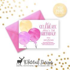 106 best birthday party invitations images on pinterest in 2018