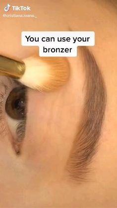 Soft Eye Makeup, Makeup Eye Looks, Eye Makeup Art, Skin Makeup, Eyeshadow Makeup, No Make Up Make Up Look, Casual Makeup, Learn Makeup, Eye Makeup Designs