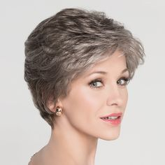The Alexis Deluxe wig from the Hairpower Collection is a beautifully, softly waved style which has a luxurious cap construction. Short Thin Hair, Short Hair Older Women, Haircut For Older Women, Short Brown Hair, Short Hair With Layers, Short Hairstyles For Women, Grey Hair Styles For Women, Shot Hair Styles, Bright Hair