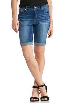 Cato Fashions Bermuda Denim Shorts #CatoFashions