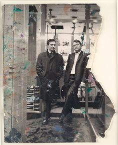 George Dyer and Francis Bacon in Soho, 1966, John Deakin