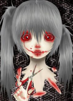 Horror Animation 2 by Saccstry on deviantART .... This kind of reminds me of Calne Ca.
