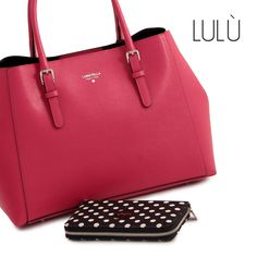 LULU' COLLECTION #loristella #bags #lulù #leather #madeinitaly #amaranth #accessories #winter #collection