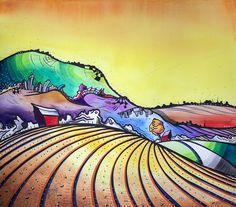 """Gary's Wheat Field"" - Justin Vining 2014"