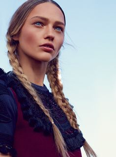 Sasha Pivovarova and 34 more of the best braids of all time.