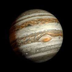 I love this picture of Jupiter