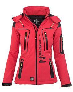 Damen Outdoor Jacke, ideal für Sport und Freizeit, nicht nur praktisch, auch schick und bequem und in einer tollen Farbe, pink/rosa für Frauen