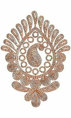 Bridal Bead Stone | Cording Embroidery Design