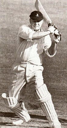 20: Dudley Nourse - South Africa. Average 53.82. 62 innings.