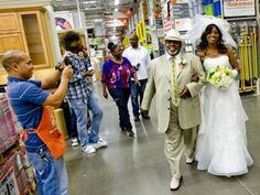 What? Home Depot, Somebody could not get off work!